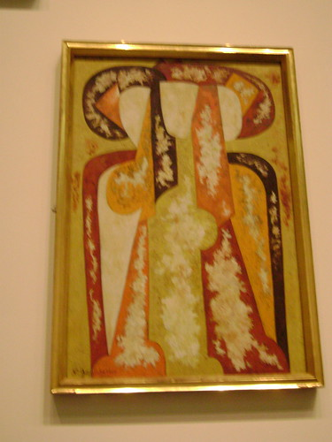 Three Young Women - Natalya Goncharova