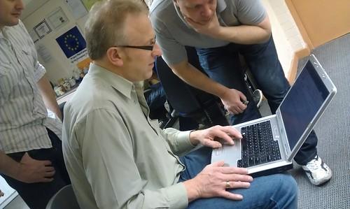 Jon and Simon hack!