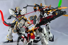 MG 1-100 Gundam HeavyArms EW Unboxing OOTB Review (108)