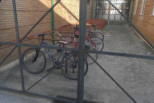 Aparcamiento para Bicicletas IES Angel de Saavedra