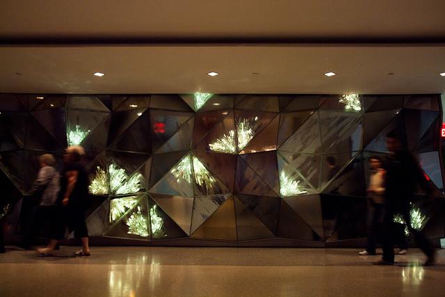 Crystal hallway