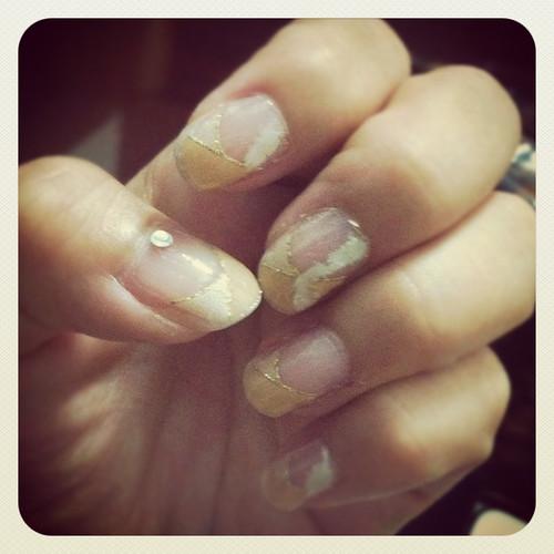 gel nail sticker