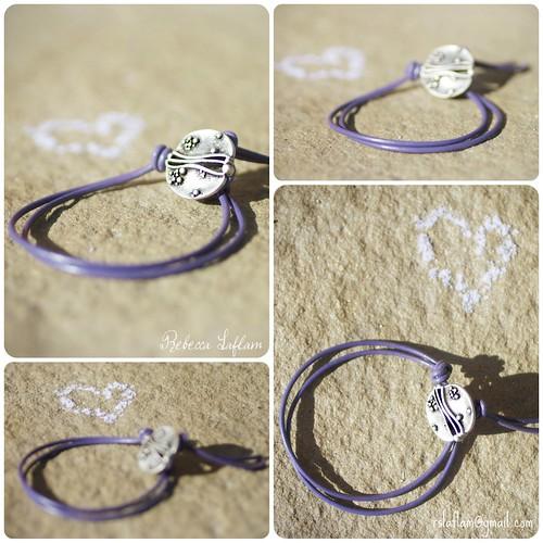 Alzheimer's support bracelet