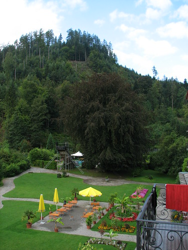 Parcul hotelului Mattenhof
