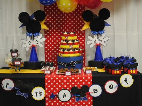 Ideas de decoraci n de mickey mouse para cumplea os - Ideas decoracion cumpleanos ...