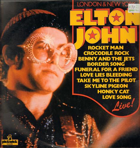 Elton John live LP