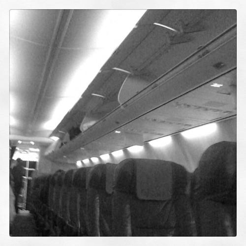 Ein Flugzeug fast für mich allein... #berlin #zürich