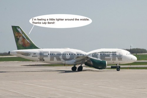 Frontier Loses Midwestern Weight