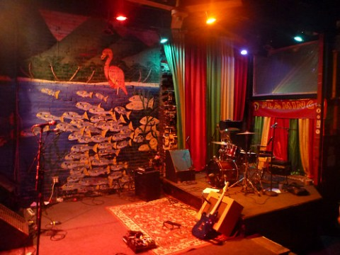Flamingo Cantina Stage