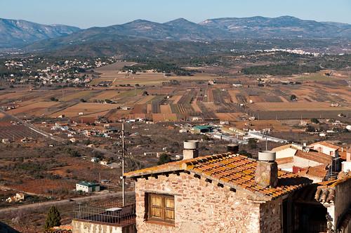Vista desde el castillo de Vilafamés