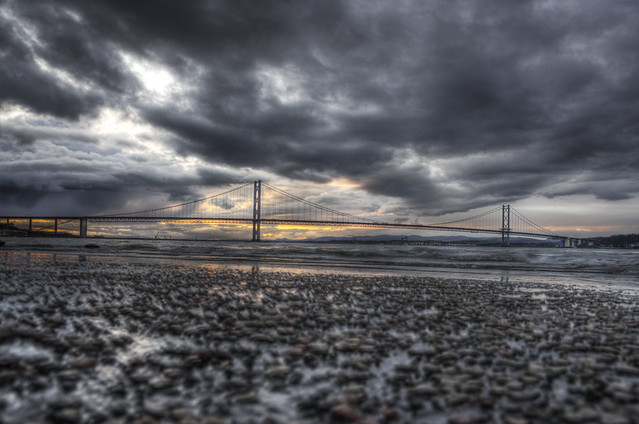 Storm Clouds over the Bridge
