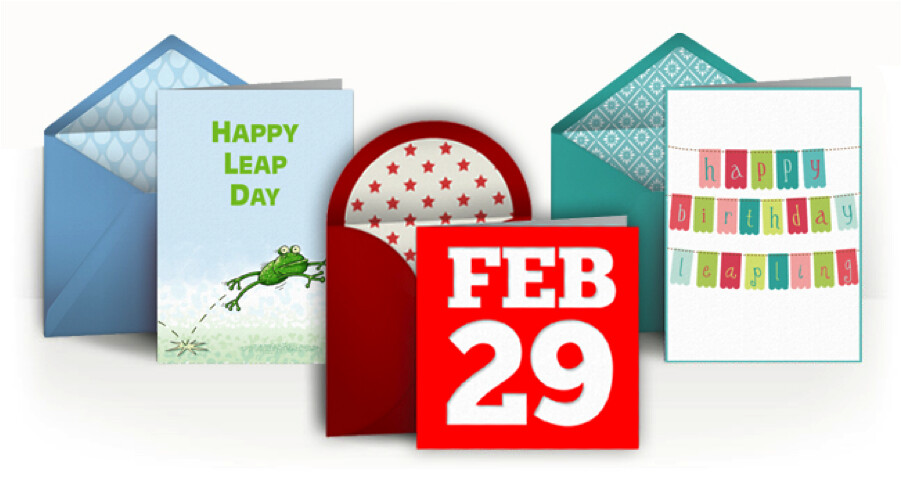 Photo of Leap Year Cards