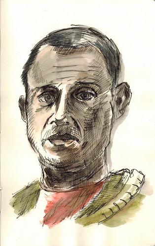 Sal Navarro by husdant