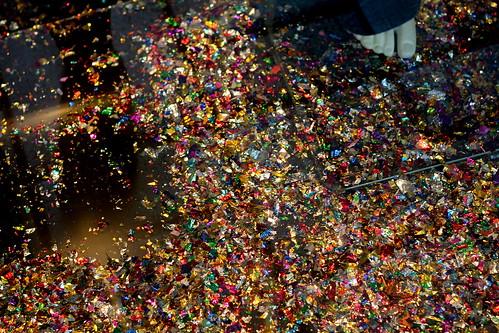 Tuesday: glitter!