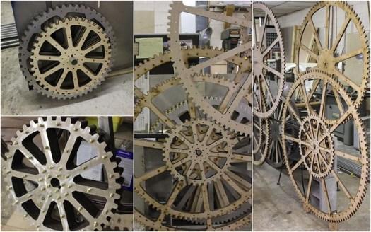 Mechanical Sculpture by John Farrer
