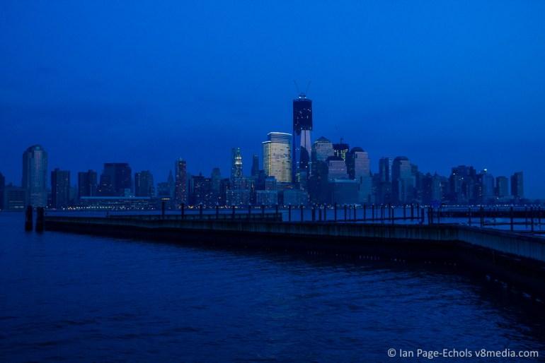 Manhattan Skyline from Jersey City