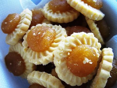 Pineapple jam tarts from Singapore