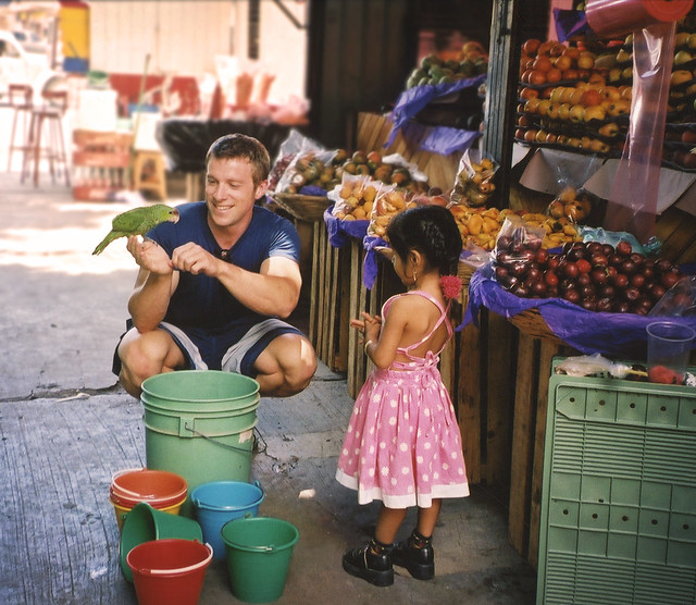 Making Friends, Oaxaca City, Mexico