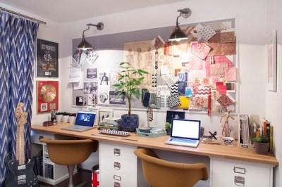amber interiors office inspiration board