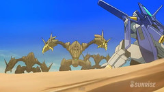 Gundam AGE 3 Episode 31 Terror! The Ghosts of the Desert Youtube Gundam PH 0036