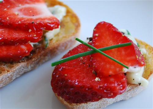Strawberry Bruchetta
