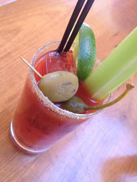 Balsamic bloody mary - The Girl & The Fig