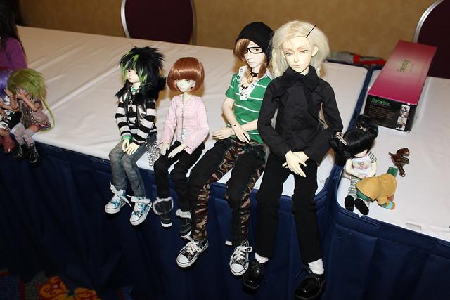 Resin dolls