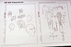 1-100 Kshatriya Neograde Version Colored Cast Resin Kit Straight Build Review (8)