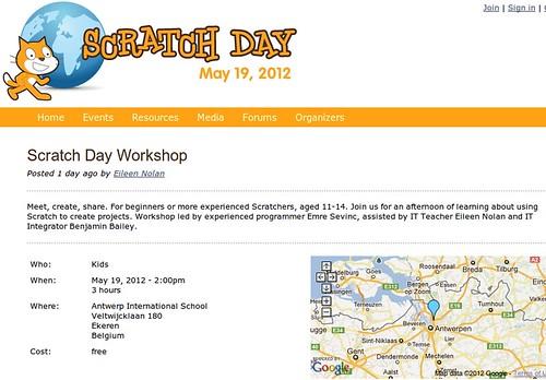 International Scratch Day 2012 @ Antwerp, Belgium