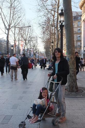 around Champs-Élysées