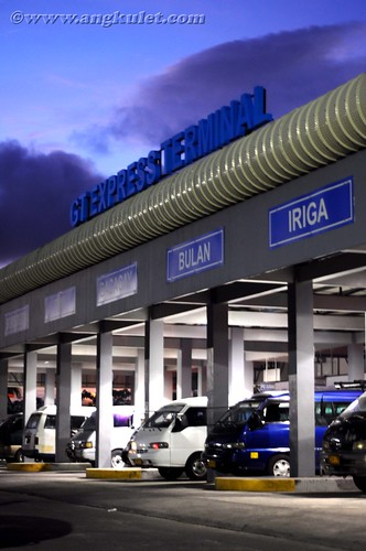 Legazpi Van Terminal