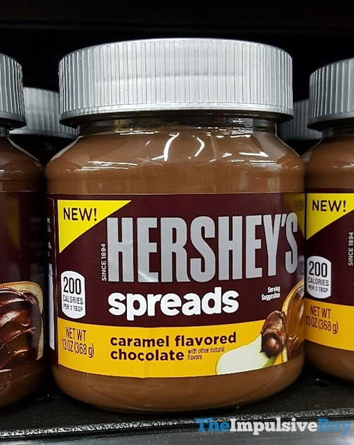 Hershey's Spreads Caramel Flavored Chocolate