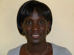 Alice Kiyonga, ILRI laboratory technician with the PAZ project in Busia