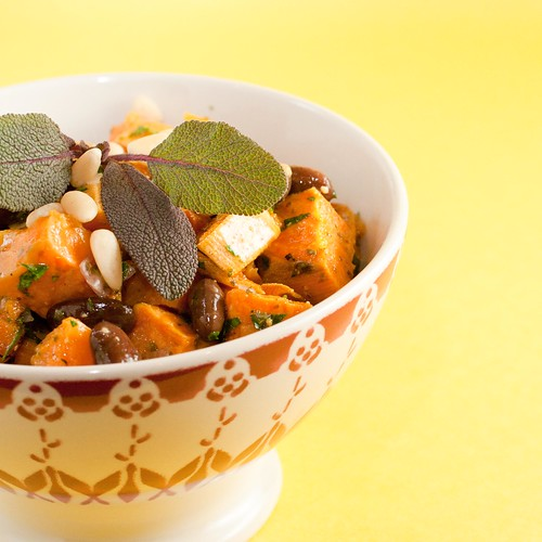 Sweet Potato and Rio Zape Bean Salad (2 of 4)