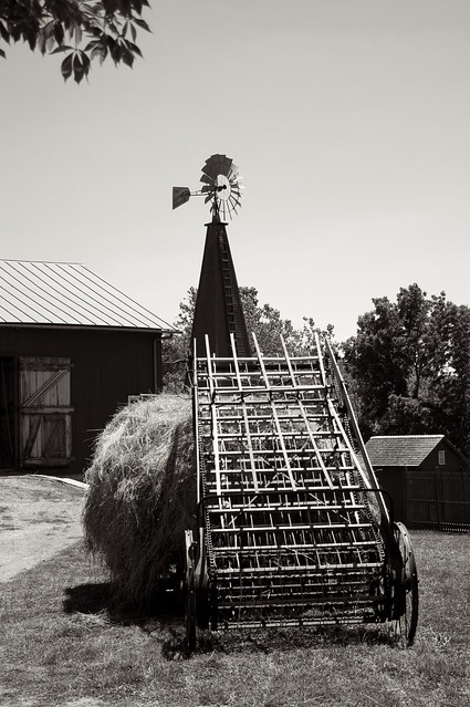 Loading the Hay 7