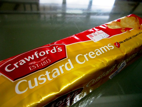 Custard creams from the UK 1