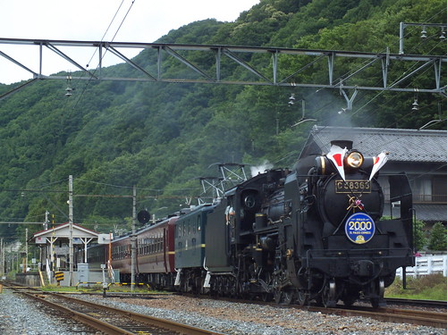 C58 363+デキ201(2000回運転) @寄居〜波久礼