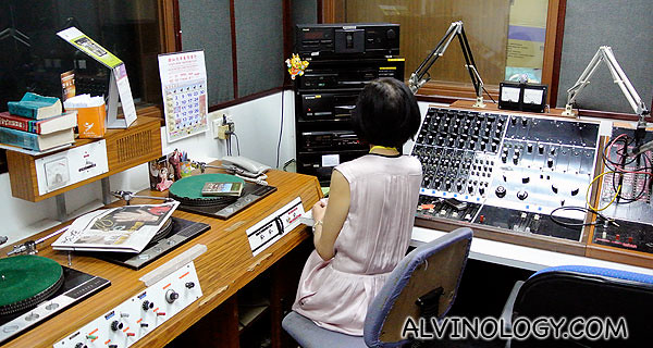 RedifGold Station Director in one of the recording studio