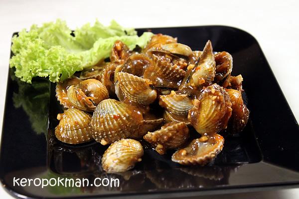 Taste of Penang @ Sentosa : Char Hum (Fried Cockles)