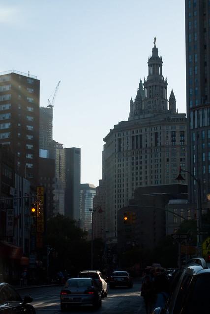 Manhattan Municipal Building from East Broadway. Photo by Ellen Brenna Dougherty