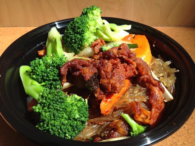 Spicy bbq pork bowl - Sorabol