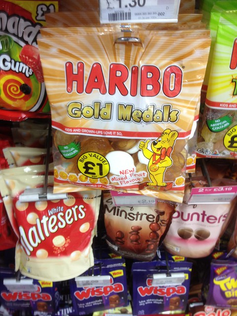 Are Haribo an Olympic sponsor?