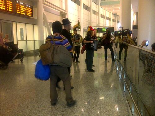 Airport Klezmer
