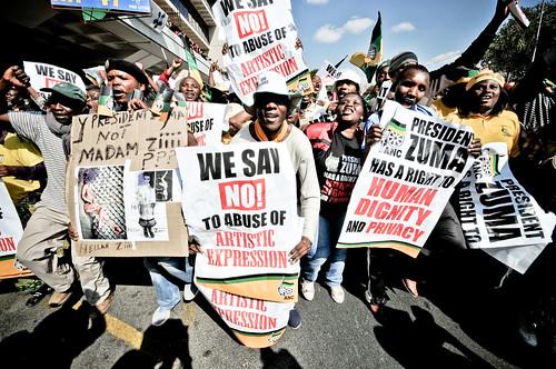 Zuma dignity street by S:P:S