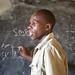 Simon Mwangangi teaching Scratch at Lepaura Primary School