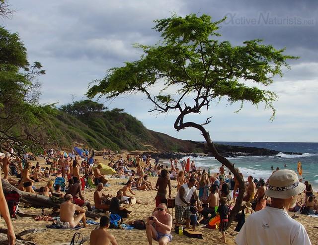 naturist 0001 Little Beach, Maui, Hawaii, USA