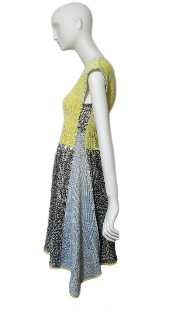 a knit dress.