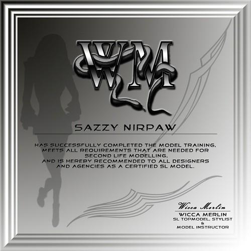 WM Diplom - Sazzy Nirpaw