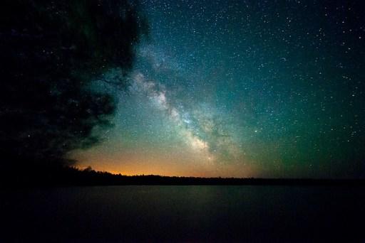 Long Weekend Tobermory Milky Way