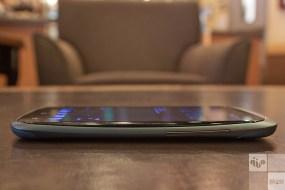 HTC One S — Side